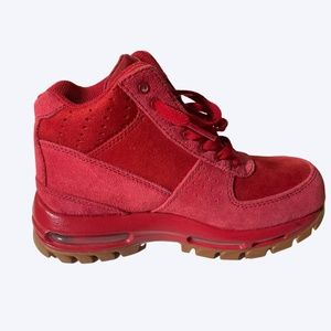 Nike ACG Air Max 360 Goadome BOOTS Suede Gym Red
